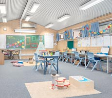 After School Care classroom