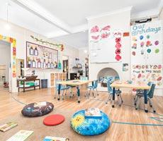 Inside our Augustus Street Childcare Centre